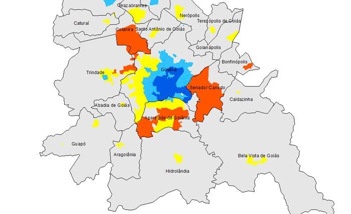 Mapas RM de Goiânia