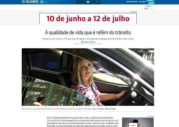 IBEU no Jornal O Globo
