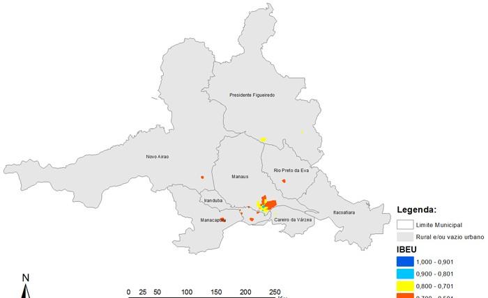 Mapas RM de Manaus