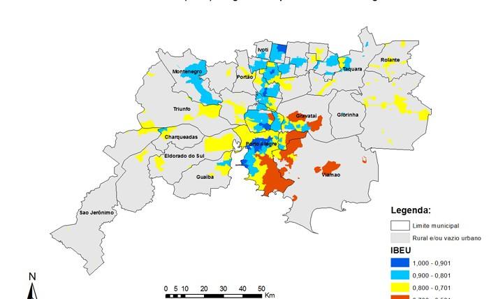 Mapas RM de Porto Alegre