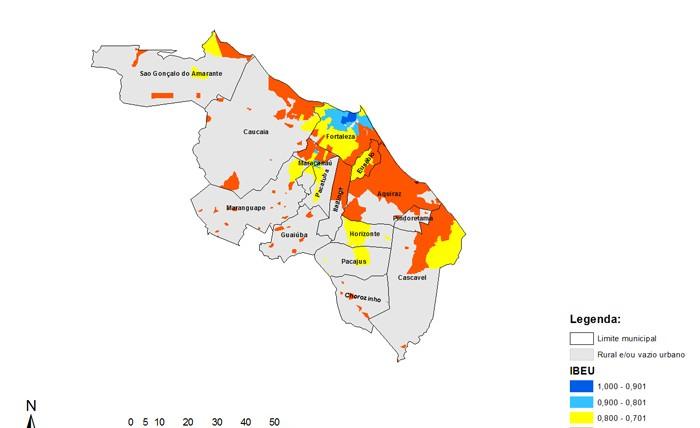 Mapas RM de Fortaleza
