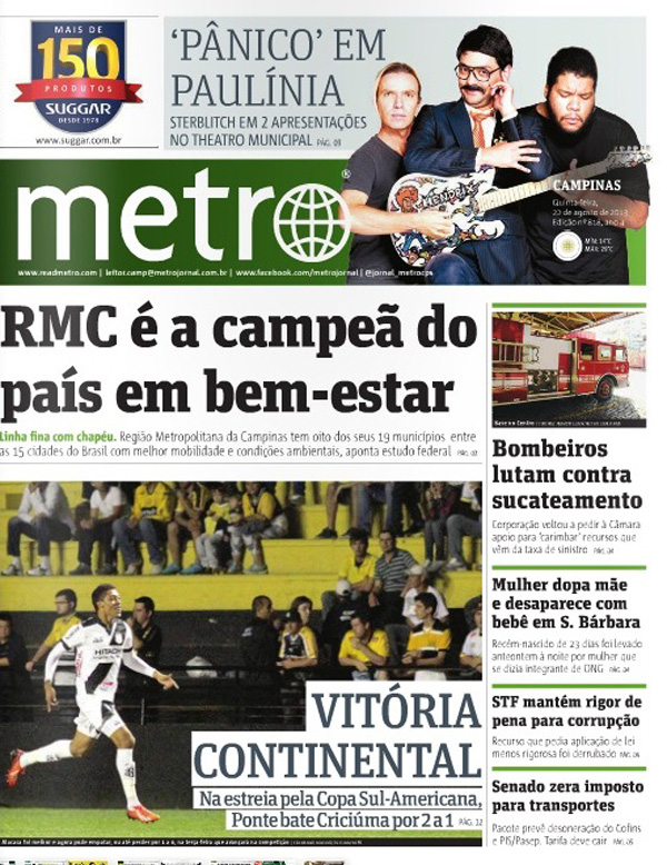 IBEU no Jornal Metro