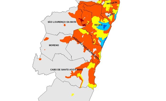 Mapas RM de Recife