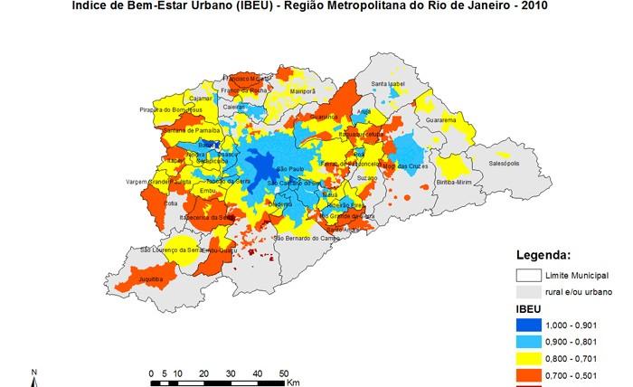 Mapas RM de São Paulo