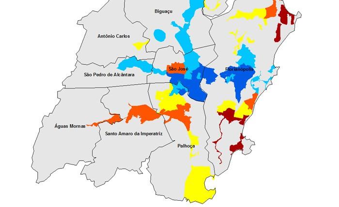 Mapas RM de Florianópolis